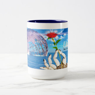LinkSky Rose, two-tone mug