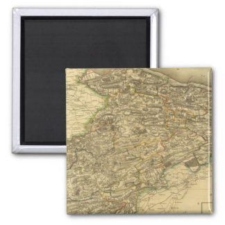 Linlithgowshire 2 Inch Square Magnet