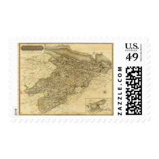 Linlithgowshire Postage Stamp