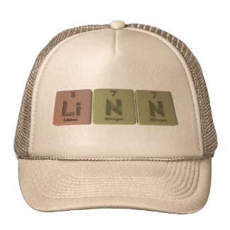 Linn como nitrógeno del nitrógeno del litio gorros
