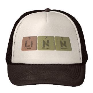 Linn como nitrógeno del nitrógeno del litio gorro