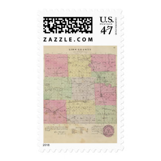 Linn County, Kansas Postage