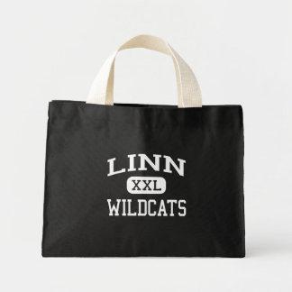 Linn - gatos monteses - High School secundaria de  Bolsa Lienzo
