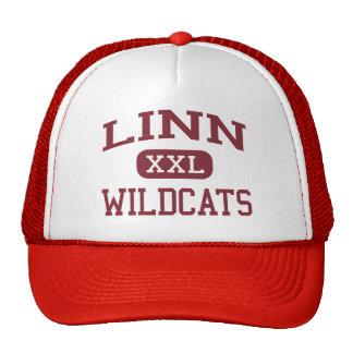 Linn - gatos monteses - High School secundaria de Gorras De Camionero