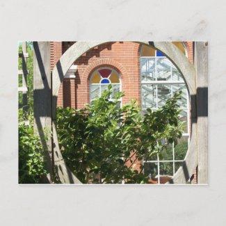 Linnean House-Missouri Botanical Garden postcard
