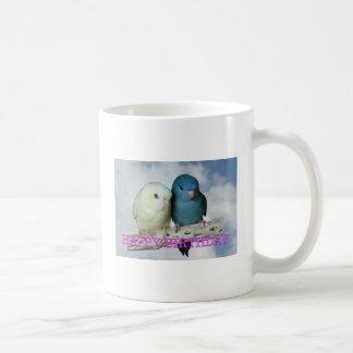 Linnie birthday greetings classic white coffee mug