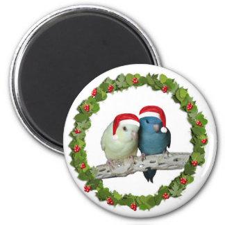 Linnie Christmas wreath Magnet