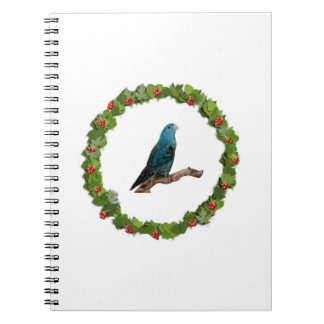 Linnie Christmas Wreath Notebook