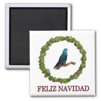 Linnie Feliz Navidad Magnet