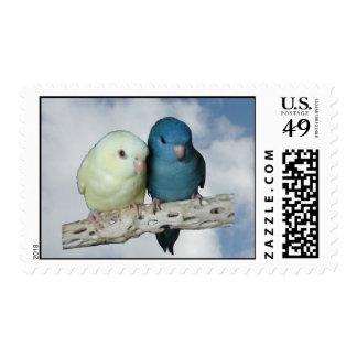 Linnie pair postage stamp