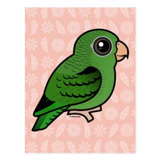 Linnie verde tarjetas postales