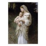 L'Innocence, William-Adolphe Bouguereau Card