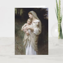 L'Innocence, William-Adolphe Bouguereau Holiday Card