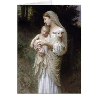 L'Innocence, William-Adolphe Bouguereau Tarjeta De Felicitación