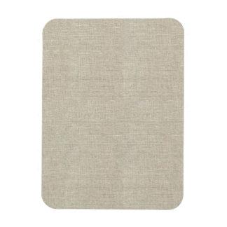 Lino beige rústico impreso iman de vinilo
