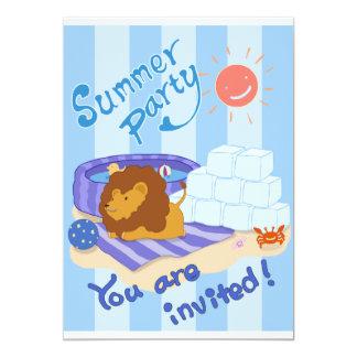 LINO Invitation Card