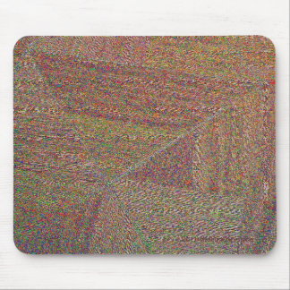LINOLEUM ABSTRACT MOUSE PAD