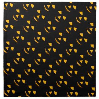 Linos de tabla lindos de la linterna de Jack o de Servilletas Imprimidas