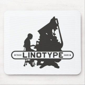 Linotype Mouse Mat Mouse Pad