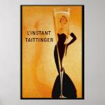 L'Instant Taittinger  Poster Print