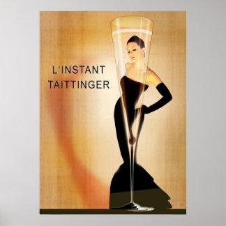 L'Instant Taittinger Remix Poster