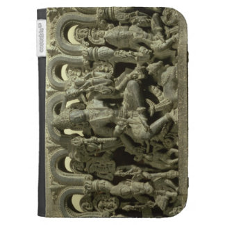 Lintel depicting The Trinity: Siva, Brahma and Vis Kindle Cases