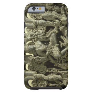 Lintel depicting The Trinity: Siva, Brahma and Vis Tough iPhone 6 Case
