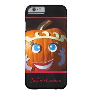 Linterna anaranjada de Jack-o' Funda Barely There iPhone 6