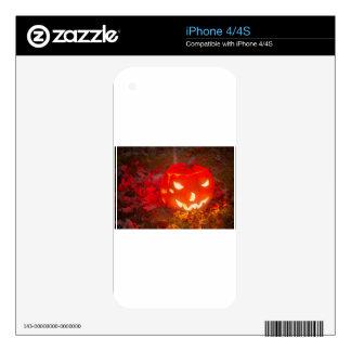 Linterna de Halloween Calcomanía Para iPhone 4