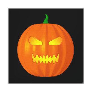 Linterna de Halloween Jack O Impresión En Lona