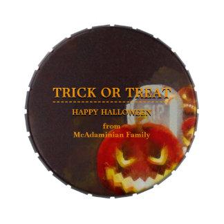 Linterna de Halloween Jack O Latas De Caramelos