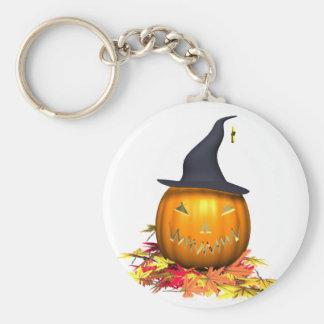 Linterna de Halloween Jack o Llavero Redondo Tipo Pin