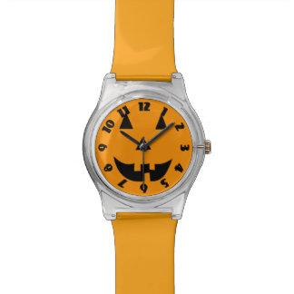 Linterna de Halloween Jack O Reloj De Mano