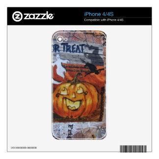 Linterna de Halloween Jack O Skin Para El iPhone 4