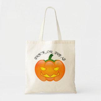 Linterna de Jack O - bolso de Halloween de los niñ Bolsa De Mano