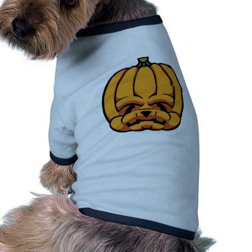 linterna de Jack-O' Camisa De Perrito