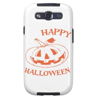 Linterna de Jack O del feliz Halloween Galaxy SIII Funda