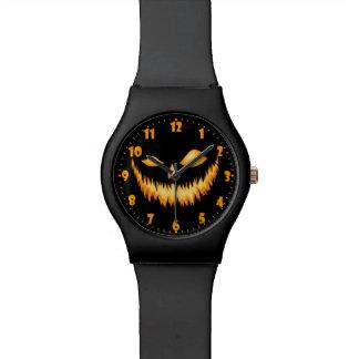 Linterna de Jack O en la oscuridad con una mueca Relojes De Mano