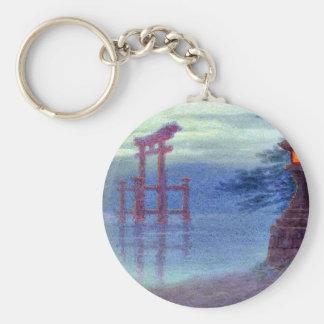 Linterna de piedra en orilla por Y Ito Llaveros Personalizados
