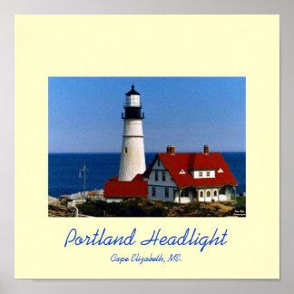 Linterna de Portland Póster
