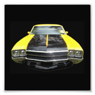 Linterna del amarillo cuatro de Buick GS que compi Impresiones Fotograficas