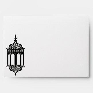 linterna del marroquí de la opción 5 del sobre 5x7