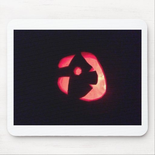 Linterna del o de Halloween Jack Tapete De Ratón