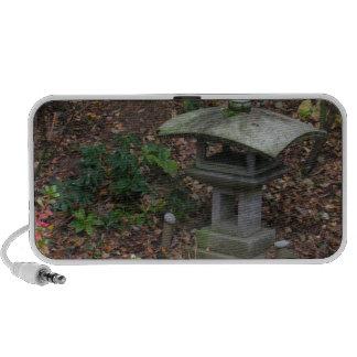 Linterna en el jardín Olympia WA de Yashiro Japnes Notebook Altavoces