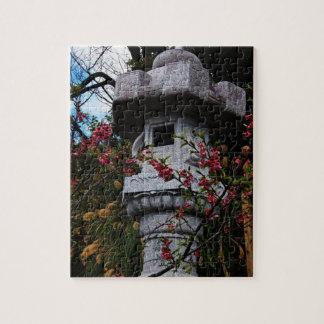 Linterna en el parque del castillo de Nago Puzzle