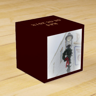 Linterna hermosa del navidad cajas para regalos