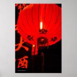 Linterna roja china poster