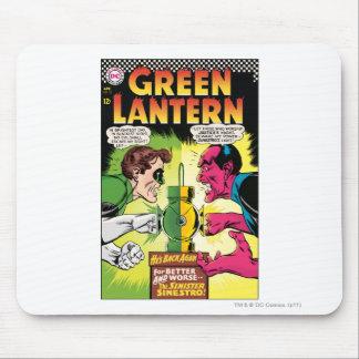 Linterna verde contra Sinestro Mouse Pads