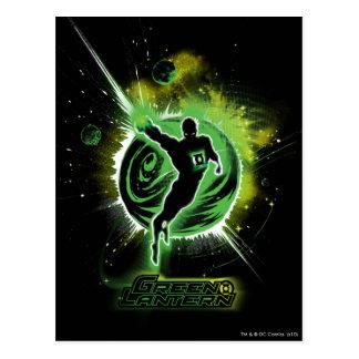 Linterna verde - EO Tarjeta Postal