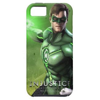 Linterna verde iPhone 5 carcasa